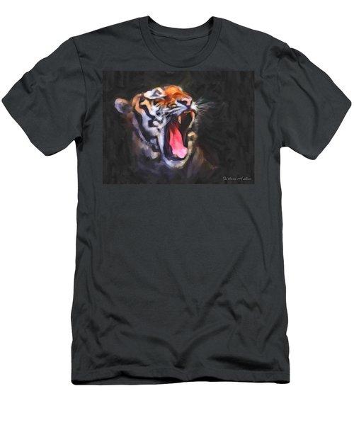Tiger Roar Men's T-Shirt (Athletic Fit)