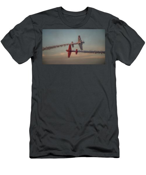 Tiger Yak 55 Men's T-Shirt (Slim Fit) by Dorothy Cunningham
