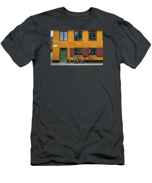 Tigergade Apartment Scene Men's T-Shirt (Slim Fit) by Eric Nielsen