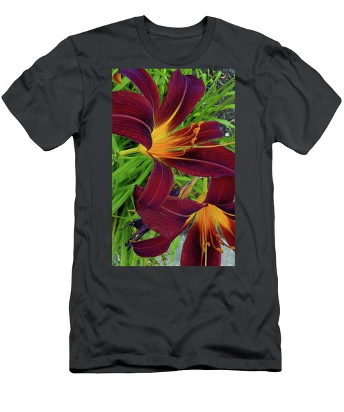 Tigerlily Close Up Men's T-Shirt (Athletic Fit)