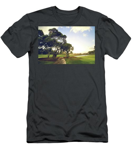 Men's T-Shirt (Slim Fit) featuring the photograph 'til I'm In Your Arms Again by Laurie Search