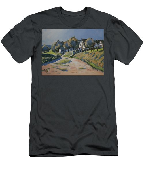 Timbered Houses In Terziet Men's T-Shirt (Athletic Fit)