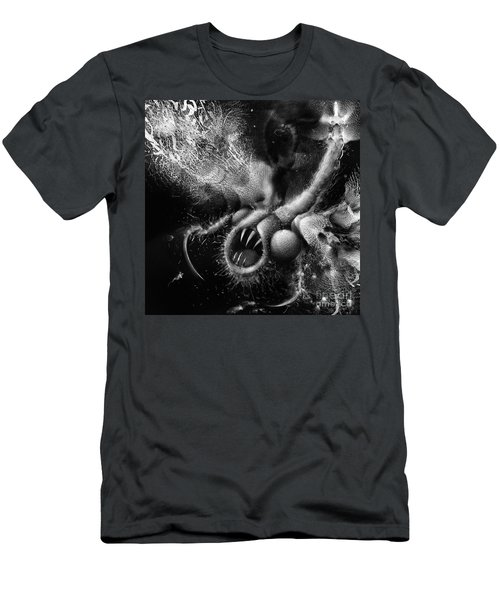 Men's T-Shirt (Athletic Fit) featuring the digital art Time Aerials Squamafly by Russell Kightley