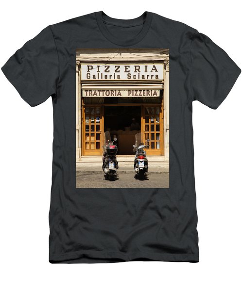 Time For Pizza Men's T-Shirt (Athletic Fit)