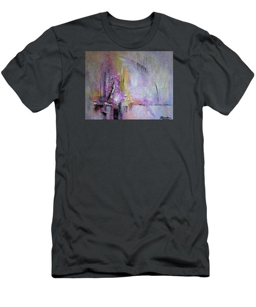 Time Lapse Men's T-Shirt (Slim Fit) by Roberta Rotunda