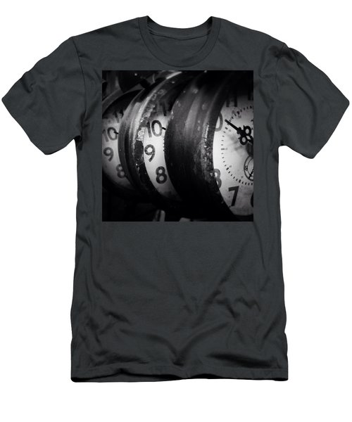 Time Multiplies Men's T-Shirt (Athletic Fit)