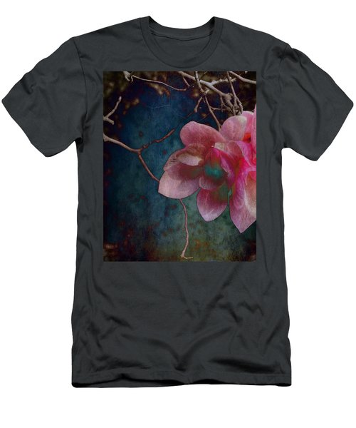 Men's T-Shirt (Athletic Fit) featuring the photograph Timeless - Magnolia Blossoms  by Marianna Mills