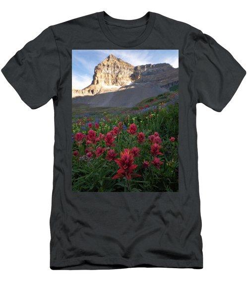 Timpanogos Paintbrush Men's T-Shirt (Athletic Fit)