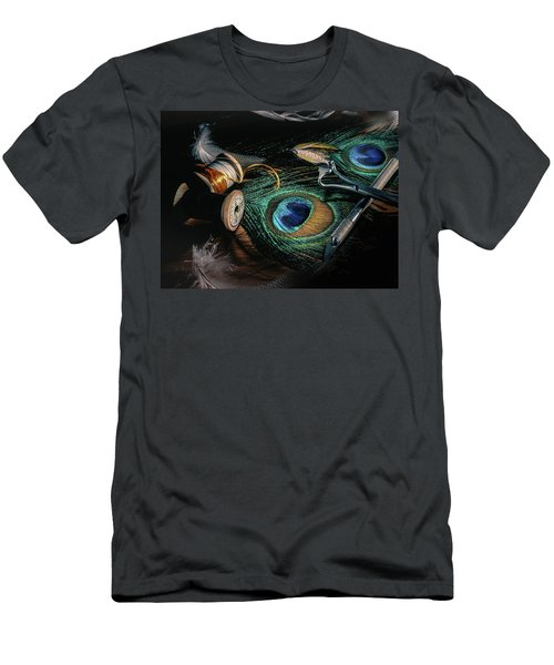 Tinsel Rust Nymph Men's T-Shirt (Slim Fit) by Jeffrey Jensen