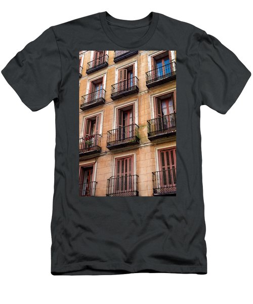 Tiny Iron Balconies Men's T-Shirt (Athletic Fit)
