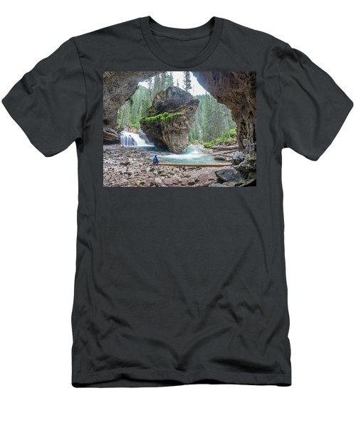 Tiny People Big World Men's T-Shirt (Athletic Fit)