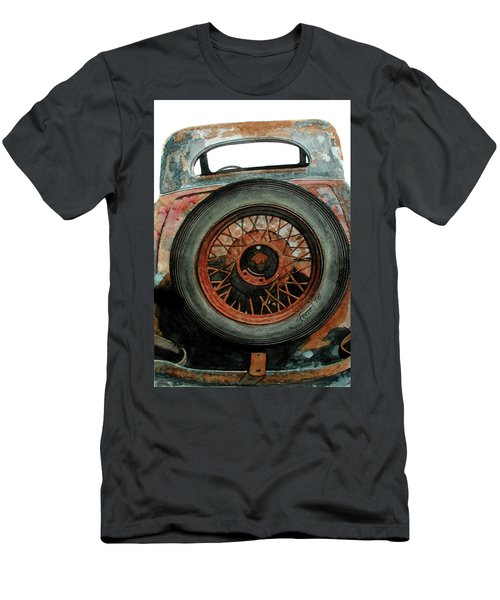 Tired Men's T-Shirt (Slim Fit) by Ferrel Cordle