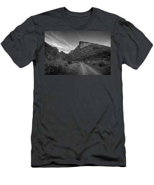 Titus Canyon Road Men's T-Shirt (Athletic Fit)