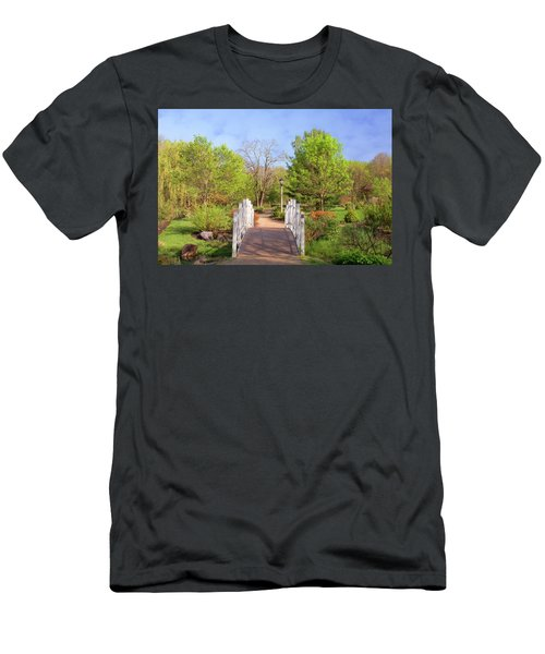 Men's T-Shirt (Athletic Fit) featuring the photograph To The Other Side Of Spring by Angie Tirado