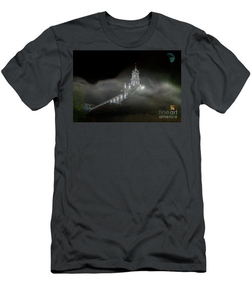 Men's T-Shirt (Slim Fit) featuring the photograph Todos Santos In The Fog by Al Bourassa
