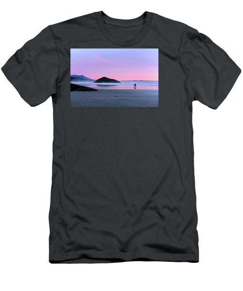 Tofino Sunset Men's T-Shirt (Slim Fit) by Keith Boone