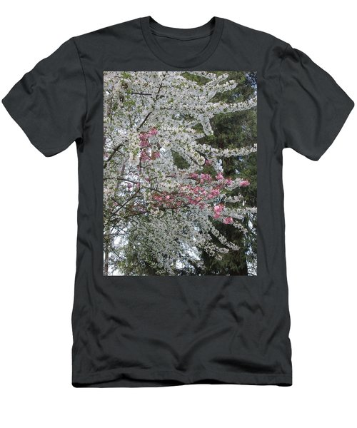 Men's T-Shirt (Slim Fit) featuring the photograph Togetherness by Marie Neder