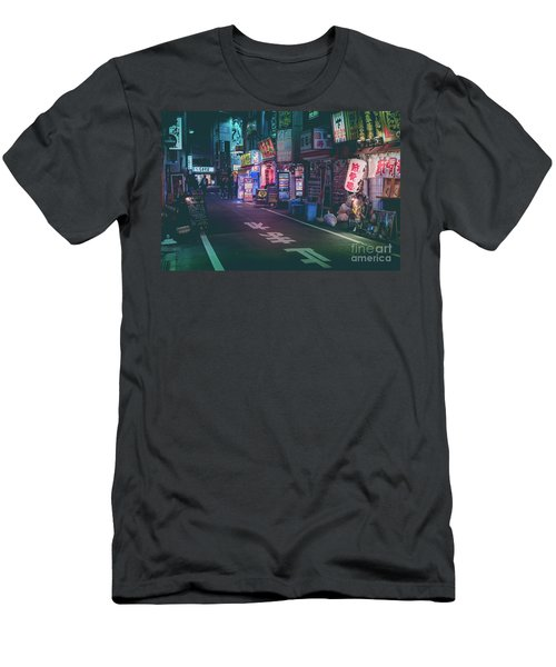 Tokyo Side Streets, Japan Men's T-Shirt (Athletic Fit)