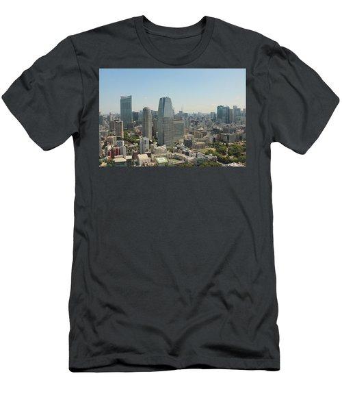 Tokyo Skyline Men's T-Shirt (Slim Fit) by Jacob Reyes
