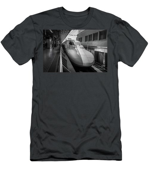 Tokyo To Kyoto Bullet Train, Japan 3 Men's T-Shirt (Athletic Fit)
