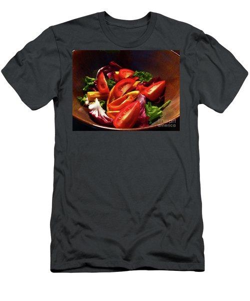 Tomato Salad Men's T-Shirt (Athletic Fit)