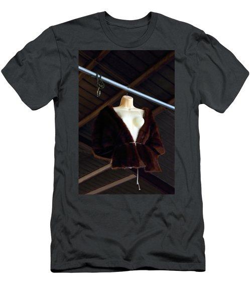 Men's T-Shirt (Slim Fit) featuring the photograph Top Fur Coat by Viktor Savchenko