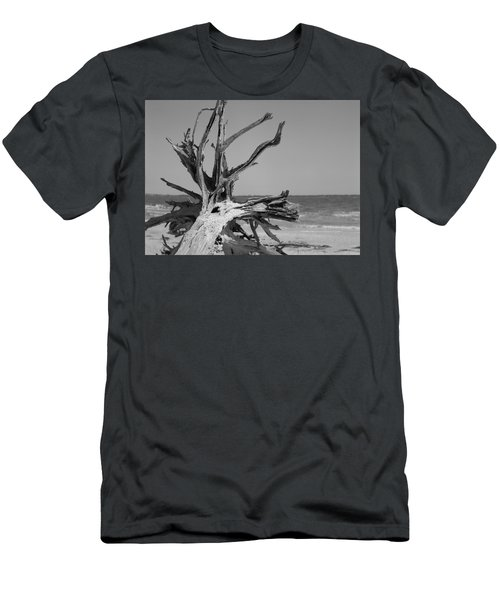 Toppled Tree Men's T-Shirt (Athletic Fit)