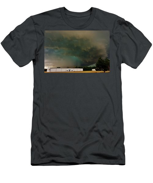 Tornadic Supercell Men's T-Shirt (Slim Fit) by Ed Sweeney