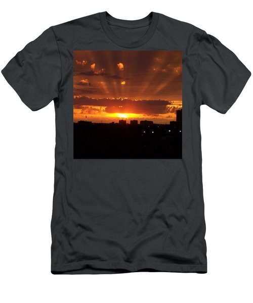 Toronto - Just One Breathtaking Sunset Men's T-Shirt (Athletic Fit)
