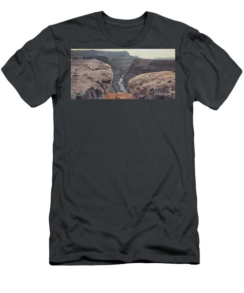 Toroweap Overlook Grand Canyon North Rim Men's T-Shirt (Athletic Fit)