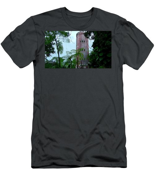 Torre De Observacion Yokahu  Men's T-Shirt (Athletic Fit)