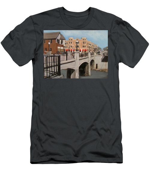 Tosa Village Bridge Men's T-Shirt (Athletic Fit)