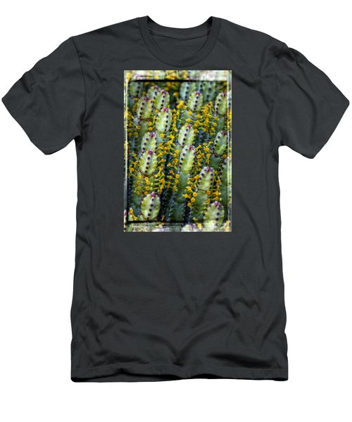 Totem Cactus Men's T-Shirt (Athletic Fit)