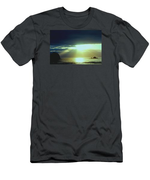 Touched From Above Men's T-Shirt (Athletic Fit)