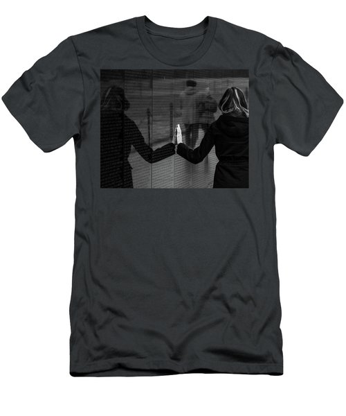 Touching Moment Men's T-Shirt (Athletic Fit)