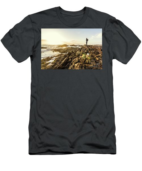 Touring Tasmania Men's T-Shirt (Athletic Fit)