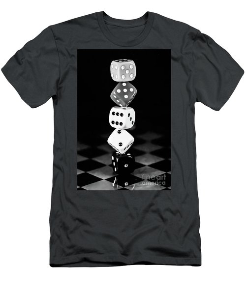 Tower Dice  Men's T-Shirt (Athletic Fit)