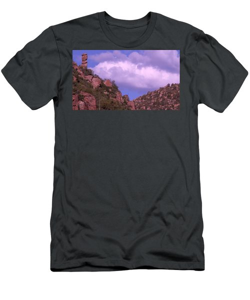 Tower Mountain Men's T-Shirt (Athletic Fit)