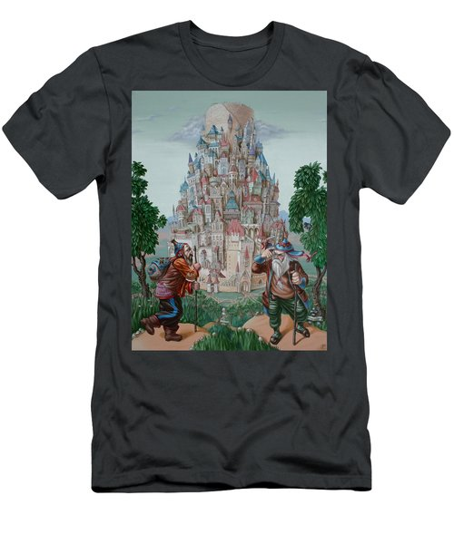 Tower Of Babel Men's T-Shirt (Athletic Fit)