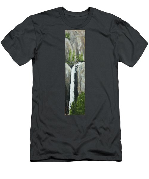 Towering Falls Men's T-Shirt (Athletic Fit)