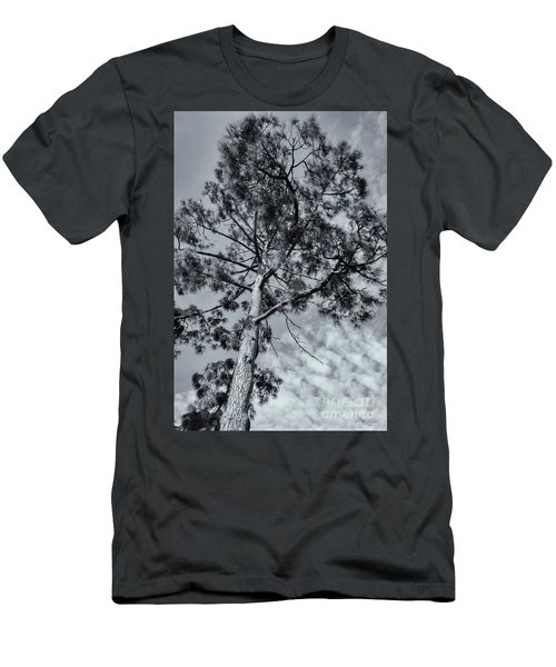 Men's T-Shirt (Slim Fit) featuring the photograph Towering by Linda Lees
