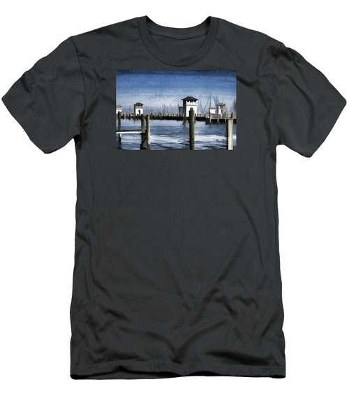 Towers And Masts Men's T-Shirt (Athletic Fit)
