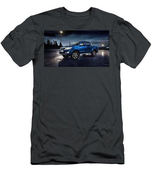 Toyota Hilux Men's T-Shirt (Athletic Fit)