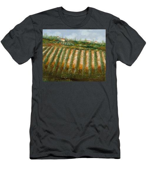 Tra I Filari Nella Vigna Men's T-Shirt (Athletic Fit)