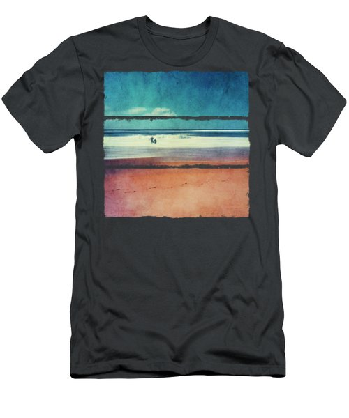Traces In The Sand Men's T-Shirt (Athletic Fit)