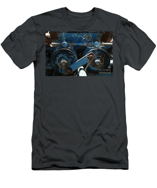 Men's T-Shirt (Slim Fit) featuring the photograph Tractor Engine IIi by Stephen Mitchell
