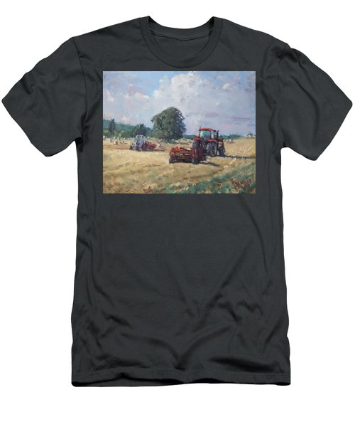 Tractors In The Farm Georgetown Men's T-Shirt (Athletic Fit)