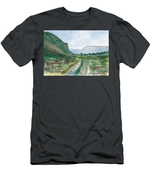 Trail To Canada Men's T-Shirt (Athletic Fit)