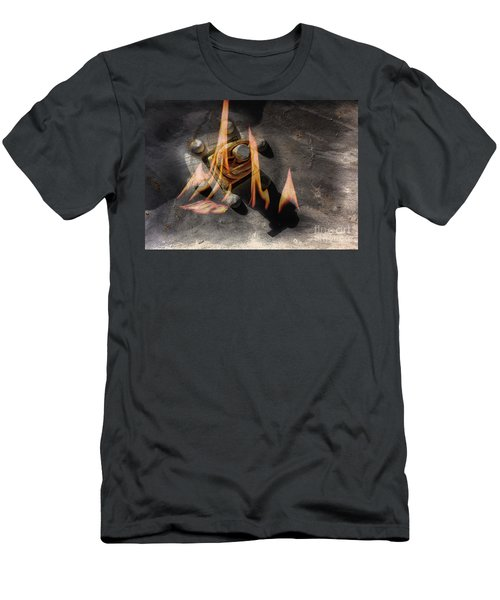 Train Wreck Men's T-Shirt (Athletic Fit)