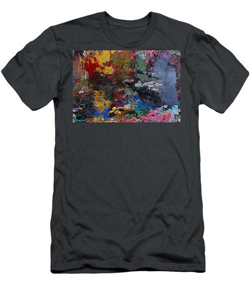 Tranquil Escape-1 Men's T-Shirt (Athletic Fit)